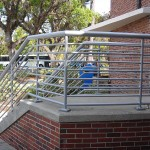 Aluminum Guard Rail With Handrail
