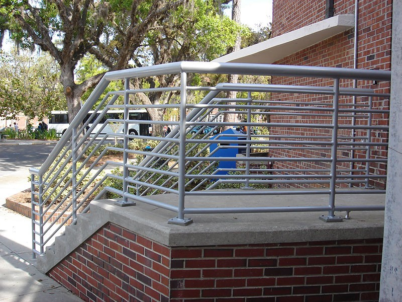 Commercial projects metal fabrication aluminum