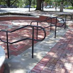 Aluminum Pipe Railing For Public Area