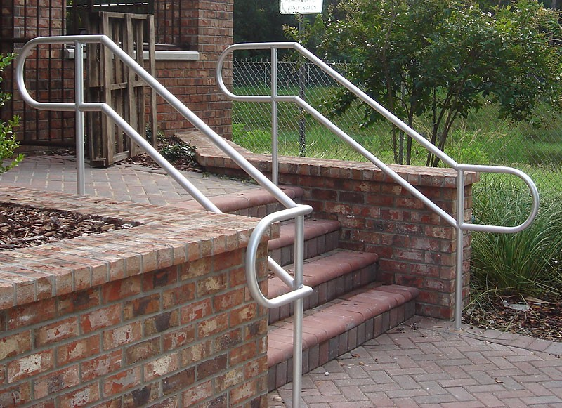 Aluminum Pipe Stair Railing