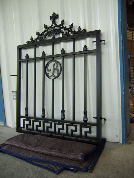Garden Courtyard Amp Wine Cellar Gates Metal Fabrication