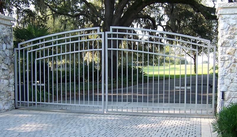 Driveway Gates Fences Metal Fabrication Aluminum