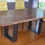 Contemporary Iron Table Base