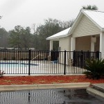 Custom Aluminum Pool Fence