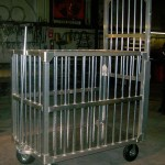 Custom Rolling Cage For Animals