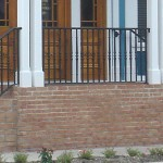 Decorative Cast Picket Double Stair Railing