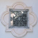 Decorative Iron Window Grille