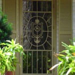 Family Crest Security Door