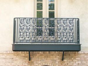 Grape And Ivy Balcony Railing