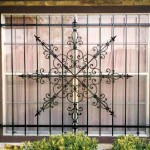 Medallion Window Bar With Side Panels