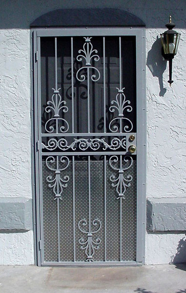 Security Bars Amp Doors Metal Fabrication Aluminum