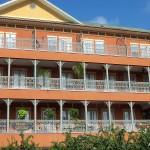 Orleans Style Balcony Railing, Green