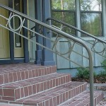 Pipe And Circle Stair Railing