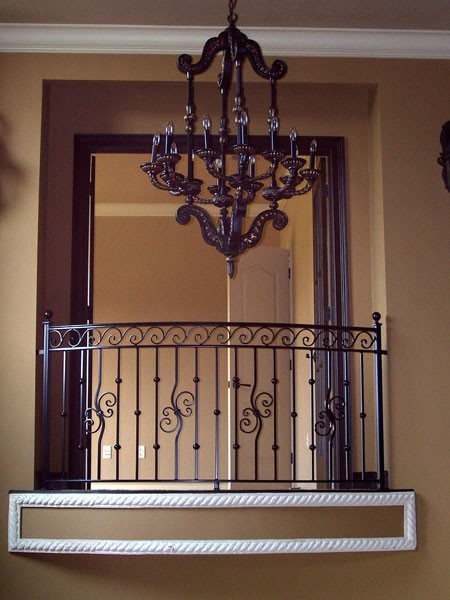 Interior Railing - Metal fabrication, aluminum fabrication