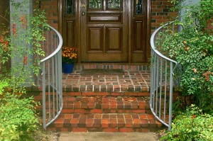 Straight Picket Curved Railing