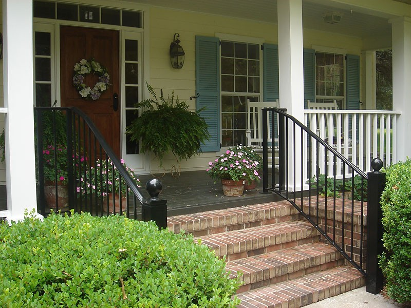 Exterior Railing - Metal fabrication, aluminum fabrication