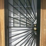 Sun Burst Security Door