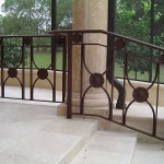 Traditional Railing With Medallions