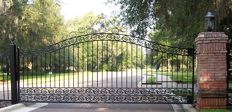 Driveway Gates Amp Fences Metal Fabrication Aluminum
