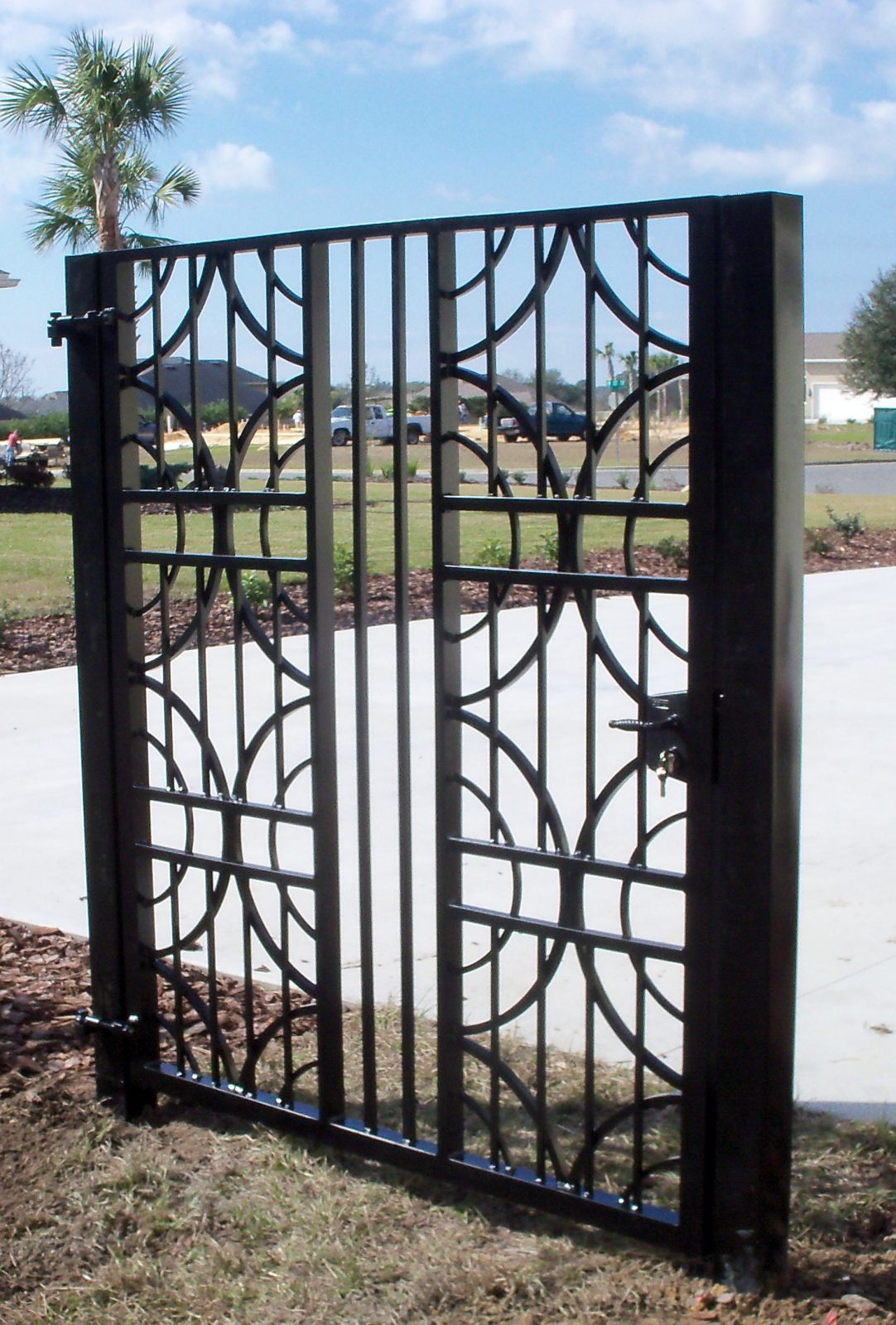 Garden Courtyard & Wine Cellar Gates Metal fabrication