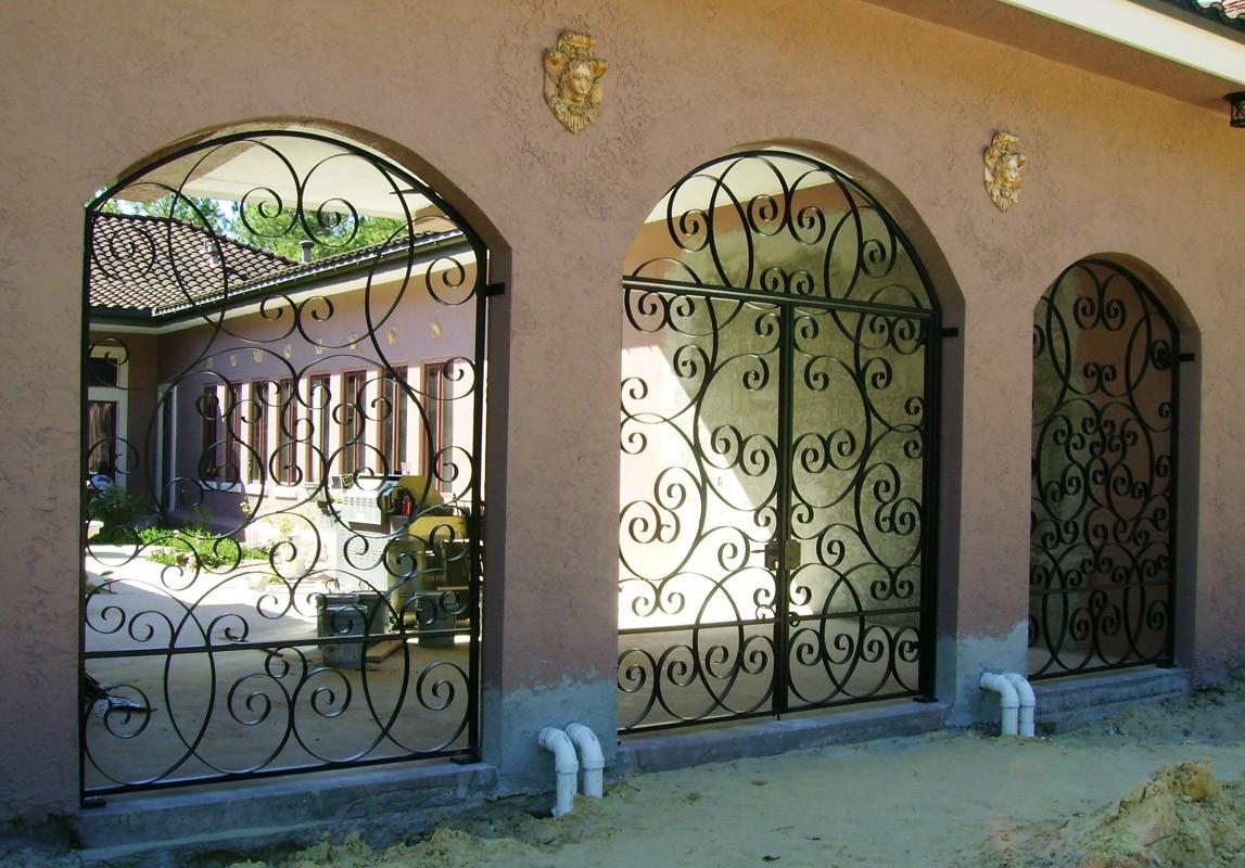 Garden Courtyard Amp Wine Cellar Gates Metal Fabrication