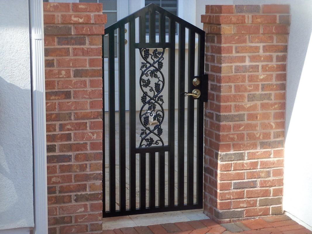 Garden, Courtyard & Wine Cellar Gates