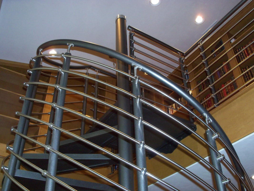 Spiral stairs furniture miscellany metal fabrication for Spiral stair