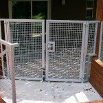 Aluminum Wire Mesh Double Gate