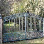 Arch Top Garden Gate With Oak Panel