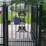 Arched Courtyard Gate