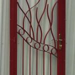 Contemporary Style Security Door