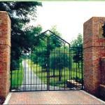 Custom Contemporary Gate