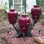 Custom Tree Stump Fountain