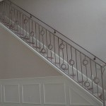 Deco Style Circles Stair Railing