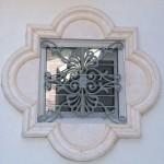 Decorative Iron Window Grille