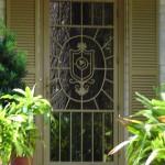 Family Crest Security Door