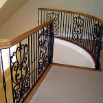 Forged Panel And Picket Railing