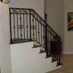 Forged Picket And Border Stair Railing