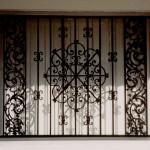 Medallion Window Bars