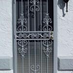Mediterranean Style Security Door