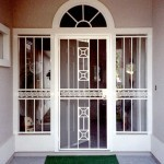 Modern Greek Key Security Door