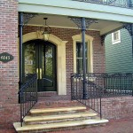 New Orleans Style Porch Railing