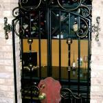 Old World Style Wine Cellar Gate