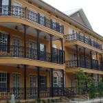 Orleans Style Balcony Railing, Black