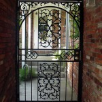Orleans Style Courtyard Gate