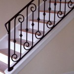 Scroll And Collar Stair Railng