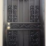 Security Door With Acorn And Oak Castings
