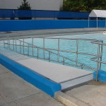 Stainless Steel Pool Ramp Railing