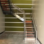 Steel Staircase And Cable Railing