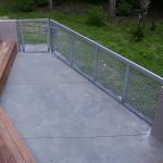 Wire Mesh Aluminum Slide And Walk Gates